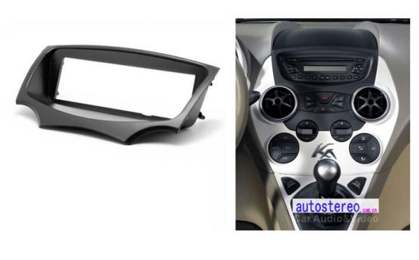Radio Fascia For Ford Ka Stereo Faceplate Fit Dash Panel Trim Images