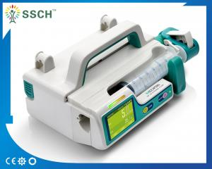 China Portable CE Battery Build-in Medical Infusion Pumps / Medical Electric Syringe Pump DC 12 V on sale