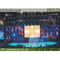 Grid P10 Flexible LED Screen Full Color Easy Install For Concert Event
