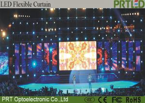 China Grid P10 Flexible LED Screen Full Color Easy Install For Concert Event on sale