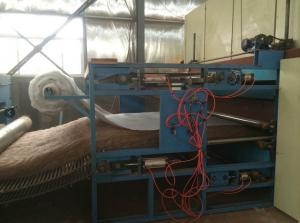 Quality PLC Servo Control Non Woven Fabric Machine Pen Jiaomian Production Line With for sale