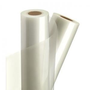 China Double Sided Glossy Self Adhesive PVC Cold Laminating Film for blessing card on sale