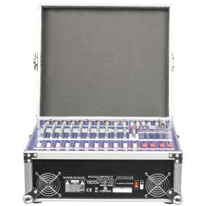 Quality High Power Dj Audio Mixer 550W*2  12Channels Mixing Console PM2000USB for sale