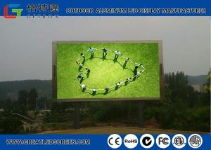 China HD SMD P6 / P8 / P10 Outdoor Advertising LED Display With High Brightness on sale