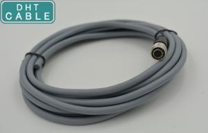 China Industrial Camera Power Cable 5 Meters long OEM IO Cable With Hirose Connector on sale