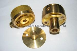 China Brass Machined parts,BSP NPT Metric thread,OEM and ODM business on sale