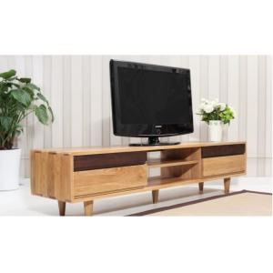 China Antique Double Wooden Low Tv Stand , Economic Contemporary Tv Stands High Standard on sale