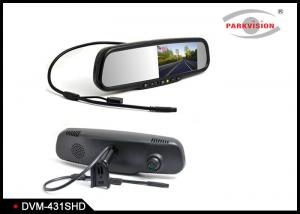 China 1,000cd / M² Rear View Mirror Backup CameraWith Dual Lens Video Recording on sale