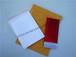 China Shock Resistance Kraft Shipping Envelopes With Bubble Wrap Inside 135x210 #-AC on sale