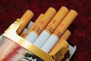 China Red Tobacco Cigarette Packing Foil For Yew Graphic Papers Tobacco Labels on sale