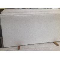China Pearl White Polished Granite Floor Tiles , Popular Granite Worktop Tiles on sale
