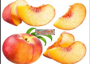 Quality Naturally Sweet Organic Canned Peaches Fruit Without Additives / Sugar for sale