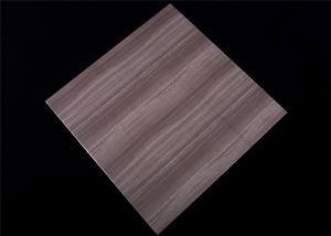 China 2.5kg Pvc False Ceiling Tiles , Lightweight Ceiling Tiles Dark Wood Design on sale