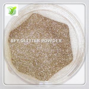 China PET Platium Gold Glitter Powder on sale