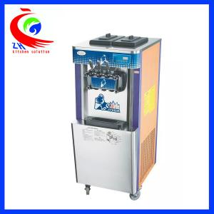 China Solf Commercial Ice Cream Machine Frozen Yogurt Machines Noise Silencing on sale