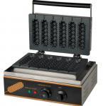 Electric Muffin Crispy Hot Dog Machine Snack Bar Equipment 220V~240V