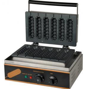 China Electric Muffin Crispy Hot Dog Machine Snack Bar Equipment 220V~240V on sale