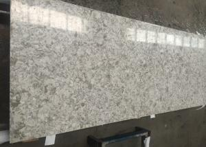 China Natural Stone Looking Quartz Composite Worktops , Custom Cut Stone Table Top on sale