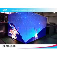 China P3mm 90 degree angle of seamless splici led indoor led display  for shopping mall on sale