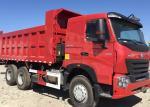 Professional 20 - 30 Ton Dump Truck  SINOTRUK HOWO A7 6x4 Dump Truck With 380HP