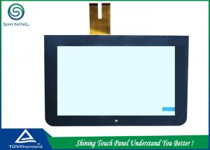 China ITO Glass Capacitive Touch Panel / Digital 10 Capacitive Touch Screen on sale