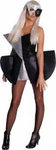 China Lady Gaga Black Sequin Dress Costume on sale