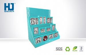 China Blue Counter Display Boxes to display CD or Photo Frame Postcard Elegantly on sale