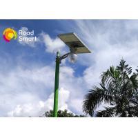 Remote Control Intelligent Solar Street Light 3000-6500K For Garden Yard