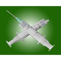 Two Part Medical Disposable Syringe with CE ISO for single use