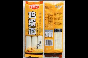 China Noodle Savour / Fine Dried Egg Noodle 300G*40BAG / Traditional Chinese Japanese Style / Wellong Food on sale