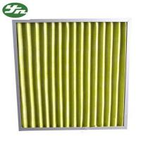 F5 F6 F7 F8 Pocket Air Filter , Cleaning Air Filters For Hvac Systems