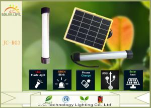 China Super Bright USB 390 Lumens Solar Torch Light Solar Flashlight Charging For Cellphone on sale