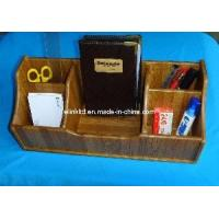 China Bamboo Multifunctional Desk Organizer for Office Use,household