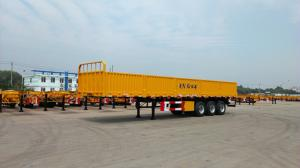 China Large Capacity Cargo Container Trailer Detachable Box With 12 Wheels on sale