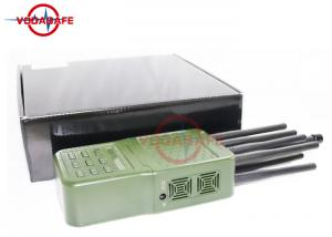 20m Coverage Portable Cell Phone Jammer Wifi 2 4G 5 8G Sweep
