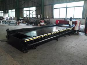 China High Speed Horizontal V Grooving Machine 4000mm Length Alloy Blade Cutting Stainless Steel on sale