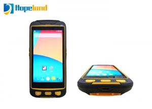 China Integrated Tablet RFID Reader , RFID Handheld Android Barcode Scanner Tablet For Industrial on sale