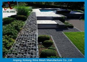 China 4mm 5mm 6mm Gabion Wire Mesh Garden Gabion Baskets Low Carbon Iron Wire Material on sale