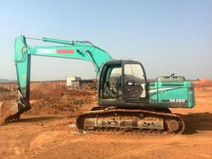 20 TON HYDRAULIC JAPAN ORIGINAL KOBELCO SK200-8 USED