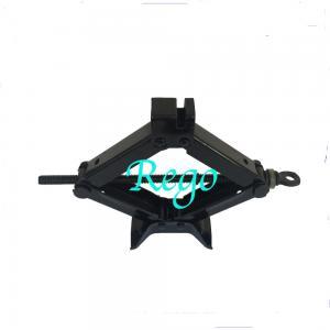 China 2 Ton Capacity Automotive Car Scissor Jack Black Color 90mm - 380mm Height on sale
