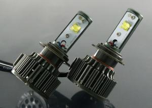 China Mass Produced H7 Led Headlight Bulbs For Cars / Automotive Led Headlamps Auto Replacement on sale