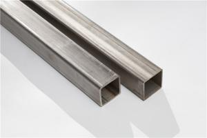 China Mirror Polished Stainless Steel Square Tube 20 - 600mm OD 3 - 12m Length on sale