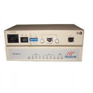 China Framed E1 to Ethernet converter Ethernet over E1 converter E1 75ohm and 120ohm on sale