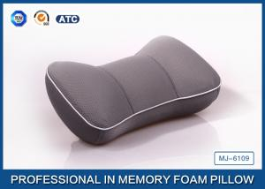 China Comfortable Travel Memory Foam Car Neck Pillow / Car Seat Neck Rest Pillow on sale