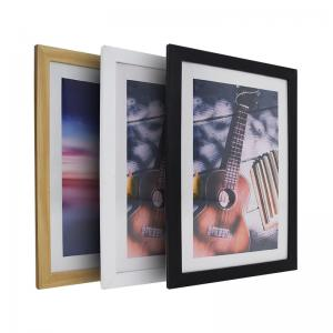 China plastic custom picture frames photo frame 8x10 16x20 wood picture frame on sale