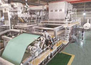 China Tissue Roll 8T / D Toilet Paper Machine on sale