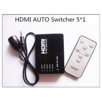 Mini 5 Ports 1080p Video Hdmi Switch Splitter Hub Support 3d Ir Remote Control For Ps3 Dvd