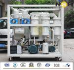 Transmission Lube Oil Purification System , Dehydration Multi Stage Lube Oil Purifier