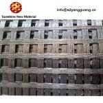 Uniaxial Biaxial Polyester Geogrid PET Geogrid For Sub Base Reinforcement