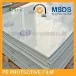 China Cinta protectora del panel de la superficie dura de la protección del polietileno plástico de la película ninguna burbuja wholesale